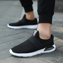 Sport Sneakers Running-Shoes Athletic Adult Autumn Men Breathable Knit Zapatillas Outdoor