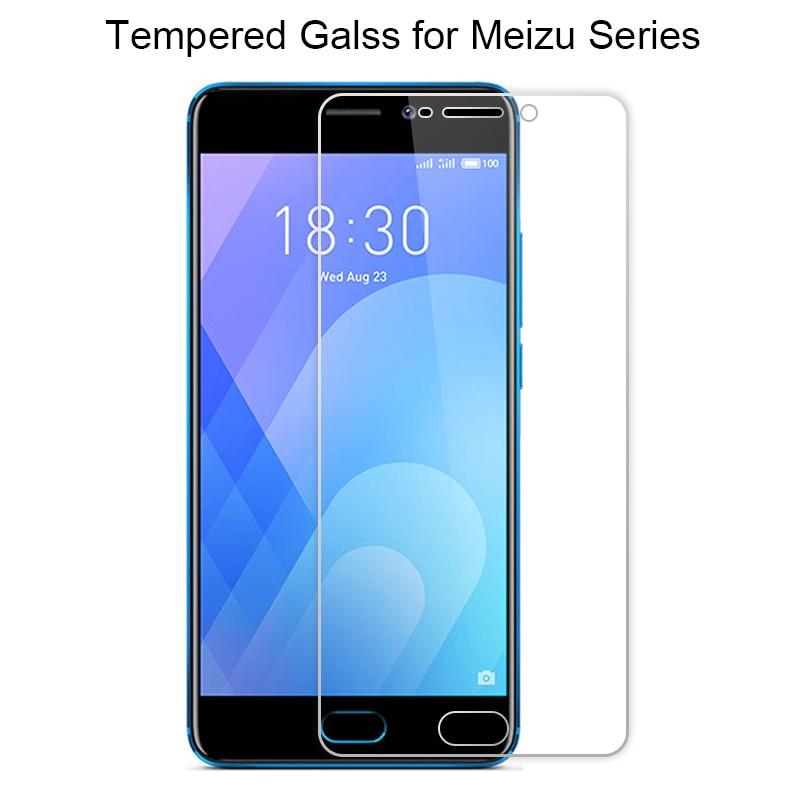 Transparent Screen Glass For Meizu U10 U20 Pro 7 Plus Tempered Glass On Meizu MX2 MX3 MX4 MX5 MX6 Pro 5 6S Glass For Pro 6 Plus