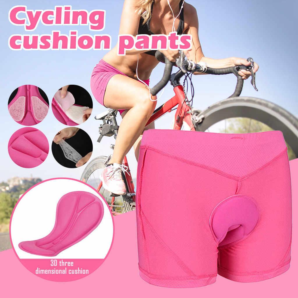 Women/'s 3D Gel Bicycle Cycling Shorts Lightweigt Mountain Bike Ride Underwear