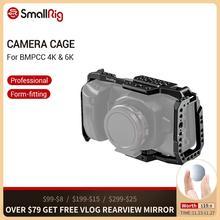 SmallRig BMPCC 4K 6K kamera kafesi için Blackmagic Design cep sineması kamera formu uydurma kafes + Nato demiryolu olabilir ayakkabı montaj 2203
