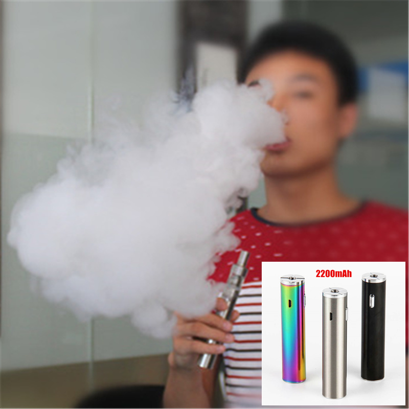 Original 30W Vape Box Mod Big Power Vaping Built-in <font><b>2200mAh</b></font> 510 Thread <font><b>Battery</b></font> Compatible With 510 tank Atomzier <font><b>e</b></font> <font><b>cigarette</b></font> image