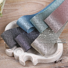 100yards 16 25 40mm siliver purl twill ribbon for bouquet flower gift packing bow home decoration diy craft supplies