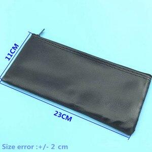 Image 2 - 10pcs Professional ไมโครโฟนผู้ถือซิปสำหรับ Shure ไมโครโฟนกระเป๋าอุปกรณ์เสริมหรือ 23*11 ซม.