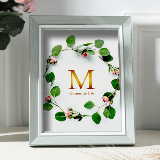 Beautiful Nordic Picture Frame Color: A Size: 7 inch
