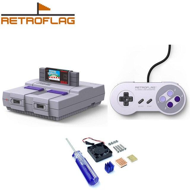 Retroflag SUPERPi CASE U NESPi Case พร้อม USB Game Controller สำหรับ Raspberry Pi 3B PLUS/3B + / 3B / 2B