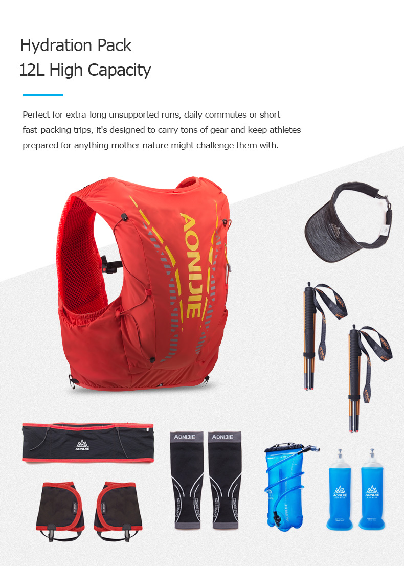 Full Featured Hydration Vest