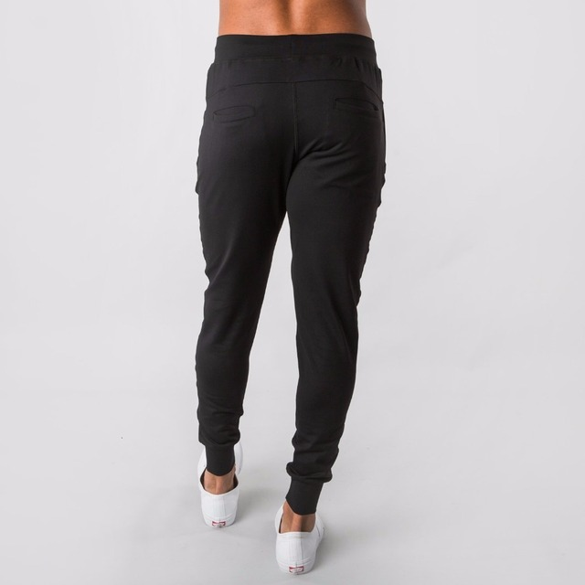 2019 New Style Mens ALPHALETE Jogger Sweatpants Man Gyms Workout Fitness Cotton Trousers Male Casual Fashion Skinny Track Pants 5