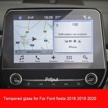 Закаленное стекло для защиты экрана для Ford Fiesta 2018 2019 2020, Стальная Защитная пленка для GPS-навигации