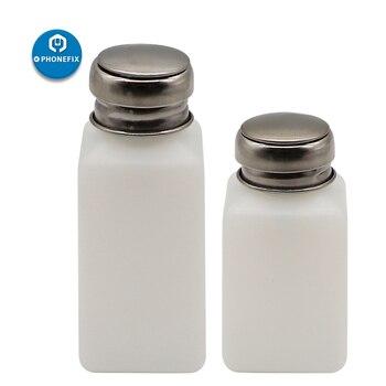 Пластиковая Алкогольная бутылка пресс металлическая крышка насосный диспенсер бутылка многоразового использования воздушный насос для М...