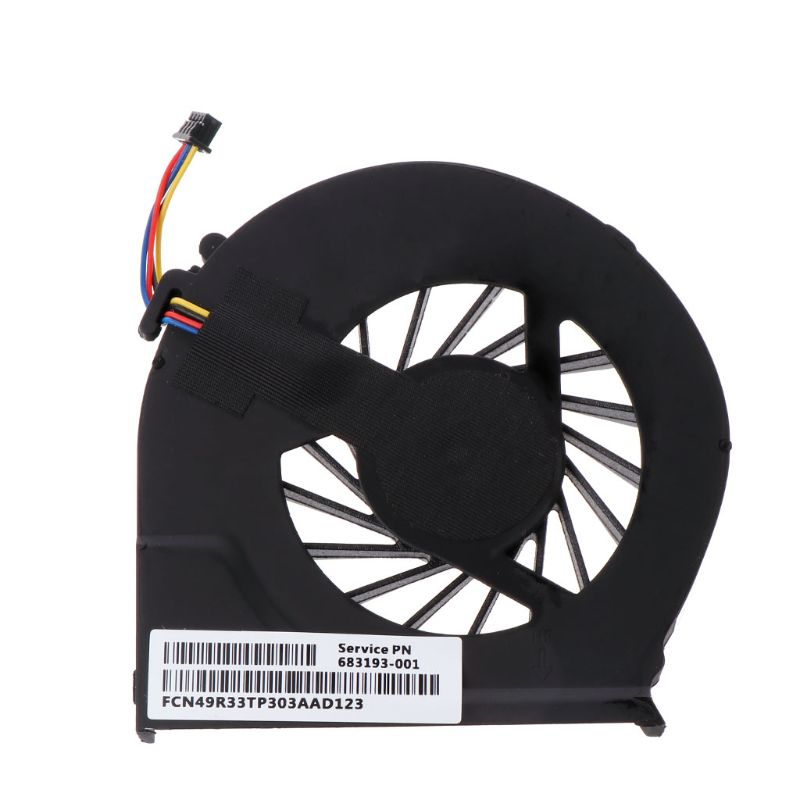 Cooling Fan Laptop CPU Cooler 4 Pins Computer Replacement 5V 0.5A For HP Pavilion G4-2000 G6-2000 G6-2100 G6-2200 G7-2000 DXAC