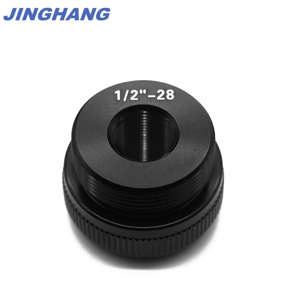Maglite C Cell Cap Set 1/2-28 Aluminum End Caps Black, Free & Fast USPS Shipping From US STOCK 2