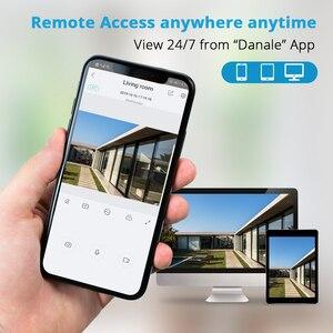 Image 3 - H.265 IP POE 보안 카메라 오디오 5MP 3MP 금속 방수 POE ONVIF 총알 모션 Dectection 야외 CCTV 감시 카메라