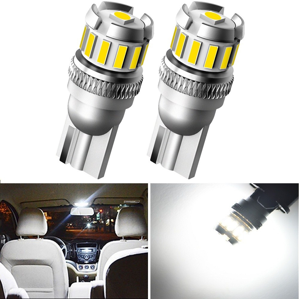 2pcs Canbus T10 Led W5W Car Interior Bulb Light For <font><b>Hyundai</b></font> Tucson 2017 Accent I30 <font><b>Santa</b></font> <font><b>Fe</b></font> Elantra Getz Creta Kona IX35 Solaris image