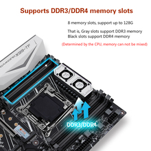 X99 motherboard with dual M.2 NVME slot