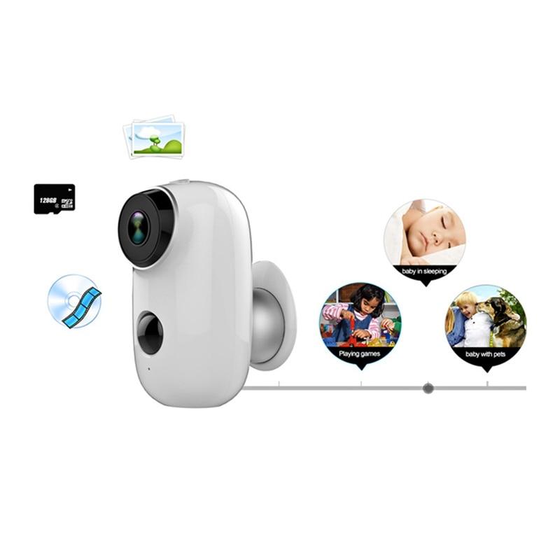 6000Mah Battery Powered Wireless Ip Camera Wifi Hd Surveillance Camera Waterproof Cctv Camera Indoor Outdoor Ir Record