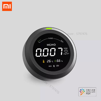 Xiaomi Mijia Air Detector Formaldehyde Monitor Electric Hygrometer Thermometer For Smart Home Mijia App Air Quality Detector high quality formaldehyde air quality detector