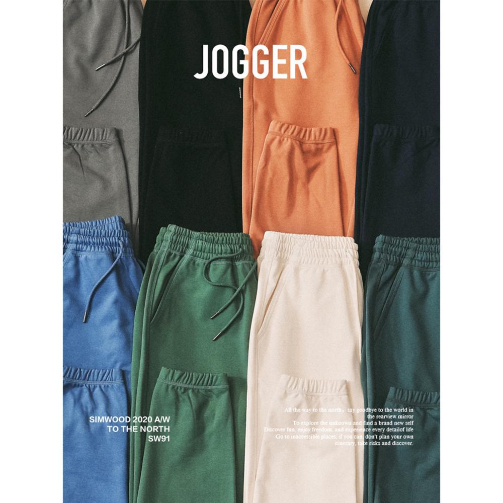 SIMWOOD 2020 Autumn Winter New Jogger Pants Men Drawstring Trousers Casual Comfortable tracksuits plus size gym pants SJ130835|Sweatpants|   - AliExpress