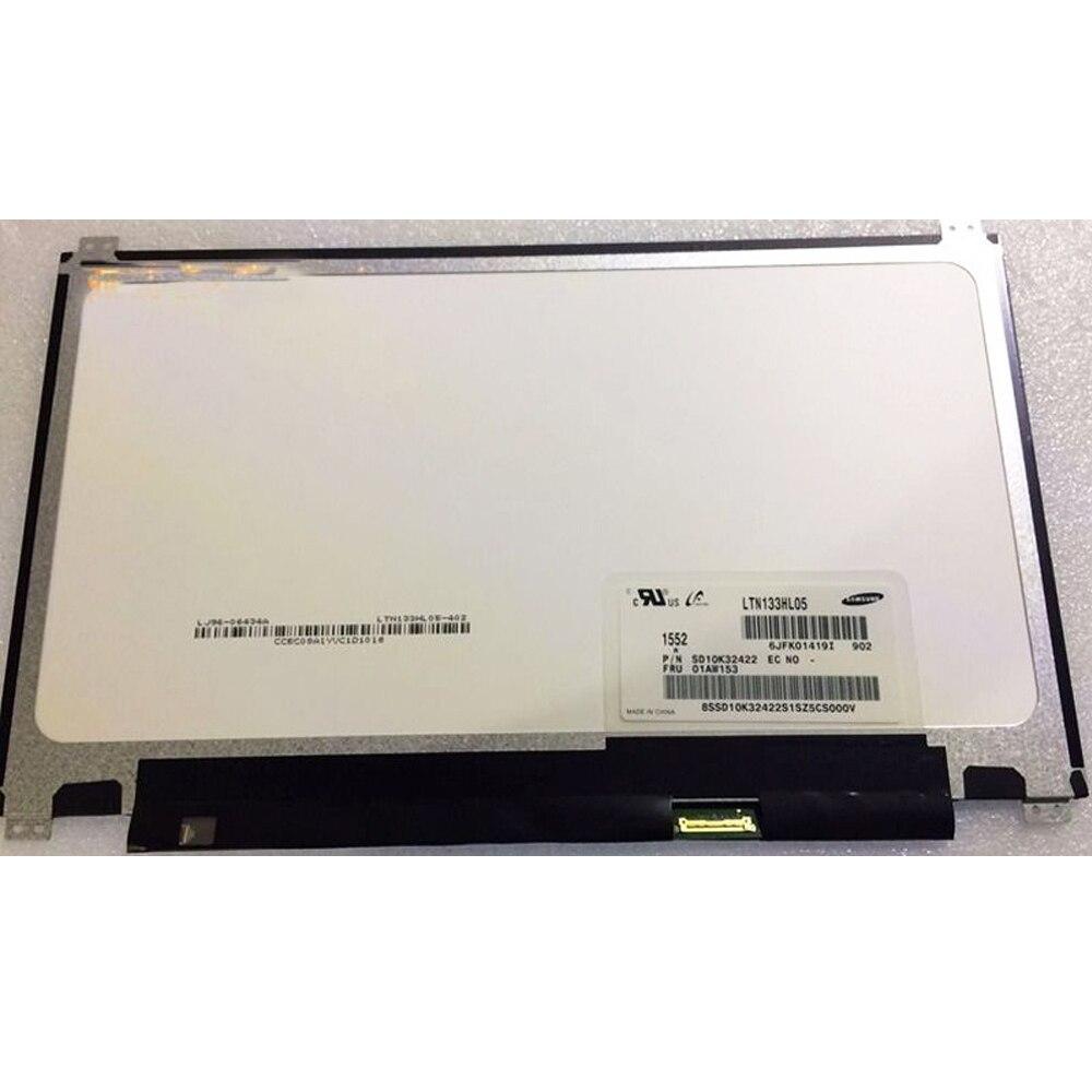 """LTN133HL05-902 для Lenovo FRU 01AW153 DP/NSD10K32422 FHD 13,3 """"светодиодный ЖК-экран LTN133HL05 902"""