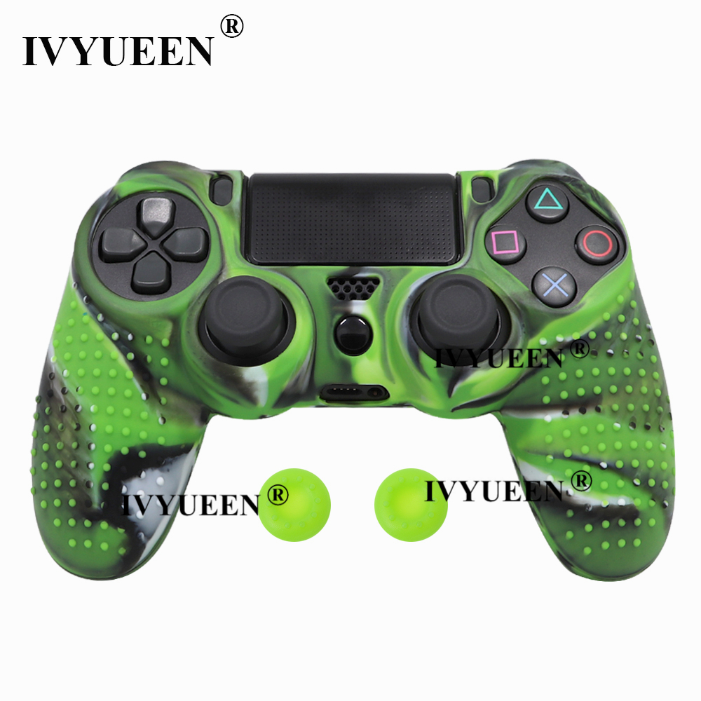 for Sony PlayStation dualshock 4 ps4 pro slim controller silicone case skin 17