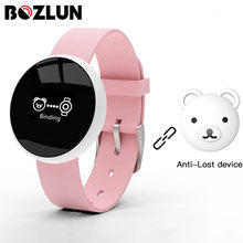 Bozlun נשים חכם שעון עבור iPhone אנדרואיד טלפון עם כושר שינה ניטור עמיד למים מרחוק מצלמה GPS אוטומטי שרות מסך