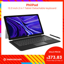 Xidu Laptop Philpad 13.3 Inch Notebook 2 In 1 Tablet Window10 Intel Atom E3950 6G DDR3 128G Ssd 1920X1080 Scherm Resolutie Pc(China)