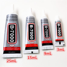 B7000 Glue For Rhinestones Crystal Adhesive Jewelry 3ml 9ml 15ml 25ml Needles Epoxy Resin Diy Jewelry Crafts Glass Supplies