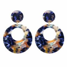 HIYONG Trend 4 color fashion women earrings large round vintage statement Earrings for jewelry Gifts