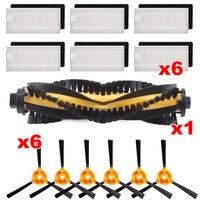 Escovas filtros kits se encaixa para ecovacs deebot n79s n79 acessórios aspirador de pó| |   -