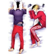 Anime Haikyu pillow Cover sugawara koushi Dakimakura Cool Boy Oikawa Tooru 3D Two side Bedding Hugging