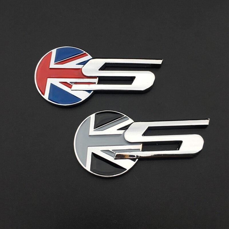 Chrome Letter 20T 25T 35T Car Sticker Auto Rear Decal Emblem Jaguar F-PACE UE
