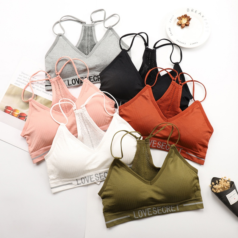 Women Tube Tops Seamless Bra Bandeau Top Female Wrapped Chest Breathable Sports Underwear