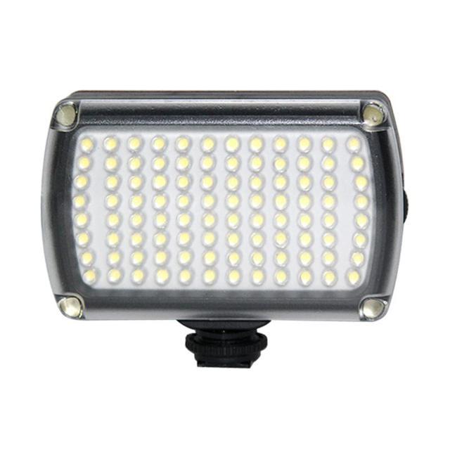 96LED profesyonel LED Video işığı dolgu işığı 3200 K 5600 K kısılabilir flaş lambası DJI Osmo cep 3 2