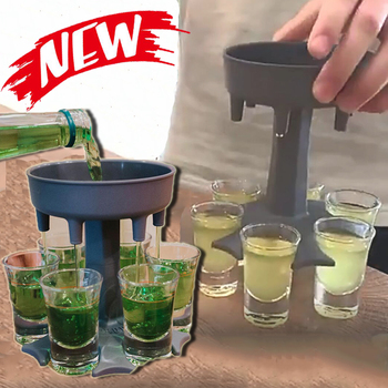 6 Shot Glass Dispenser 1
