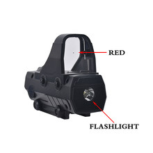 Pistolet zabawkowy luneta optyka myśliwska holograficzny kolimator Red Dot zakres taktyczny gra wojenna miękki pocisk pistolet Airsoft akcesoria do pistoletu