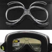 Ski Goggles Myopia Frame Insert Optical Adaptor Flexible Prescription Frame