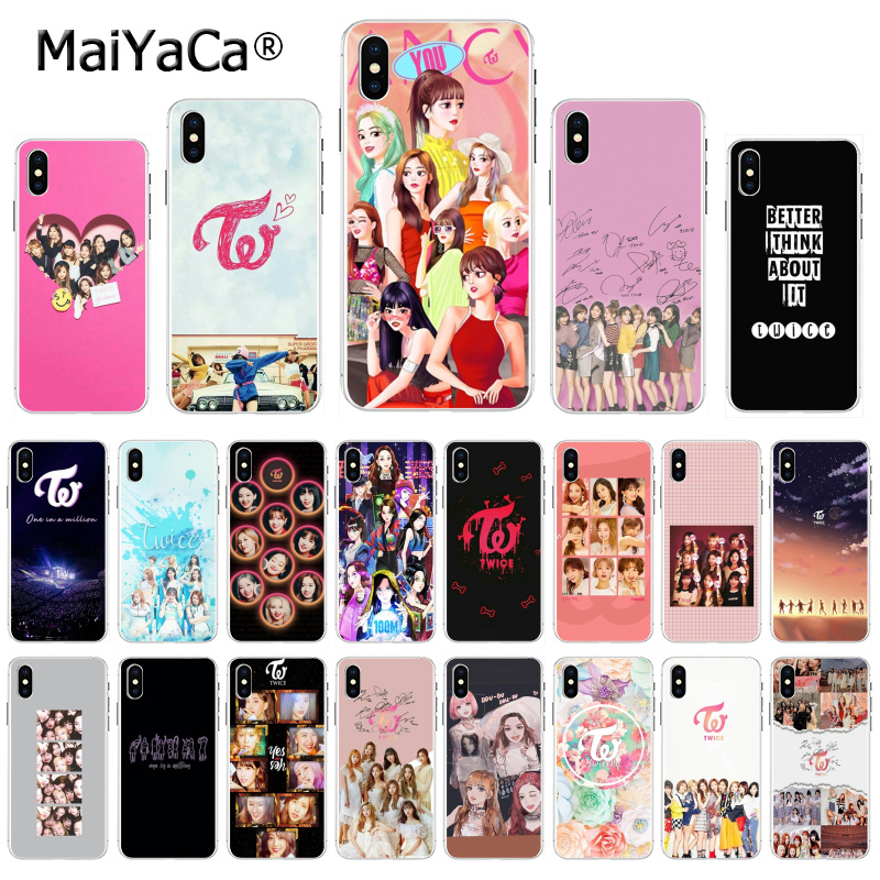 MaiYaCa Twice Mina Momo <font><b>Kpop</b></font> New Arrival Fashion phone <font><b>case</b></font> cover for <font><b>iphone</b></font> 11 pro 8 7 66S Plus X 5S SE XS XR XS MAX Cover image