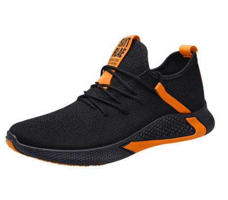 Men's Fashion Casual Shoes Men Breathable Sport Sneakers Lace Up Shoes mens casual shoes hot sale Outdoor High Quality