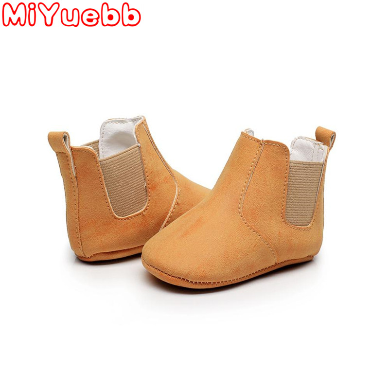 MIYUEBB Brand Girls Shoes Snow Boots 2019 Autumn And Winter  Warm Baby Shoes Children Toddler Boys Girls  Newborn Shoes 0-24 M
