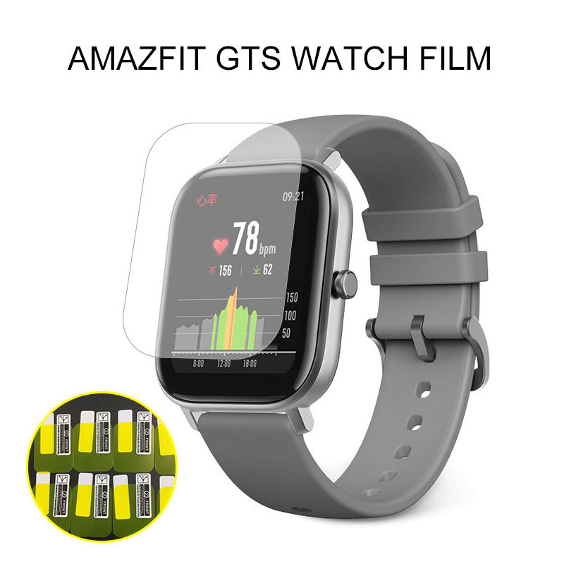1/2/5 Pcs For Xiaomi Huami Amazfit GTS Watch Soft TPU Screen Protector Non-Tempered Glass Protective Film For Mi Amazfit GTS