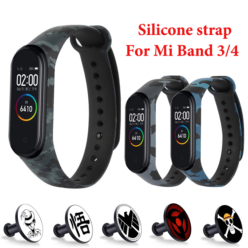 for-xiaomi-mi-band-4-3-strap-metal-buckle-silicone-wrist-strap-miband-3-accessories-bracelet-miband-4-watchband-avengers-pattern