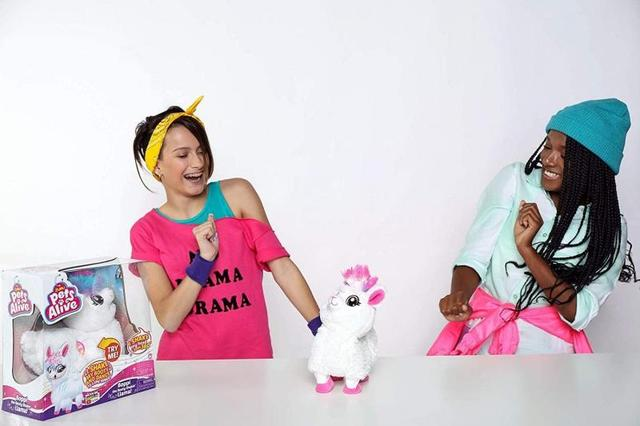 Pets Alive Boppi The Booty Shakin Llama Battery-Powered Dancing Robotic Toy By Zuru Collectible Toy Anime Figure Toys Gift 4