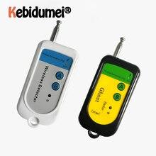 Сигнал об ошибке Радиочастотный детектор камеры GSM беспроводной детектор 100~ 2400 МГц 1,5 в мобильный телефон детектор сигнала Портативный