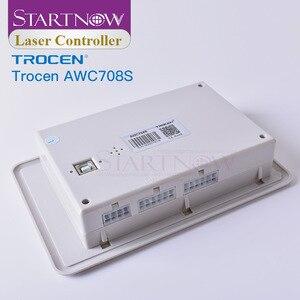 Image 4 - Trocen awc708s 7813 placa de controlador do laser co2 substituir ruida sistema cnc cartão controle 708c para peças sobresselentes da máquina corte a laser