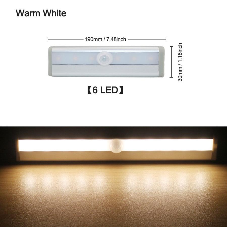 6 LED Warm White