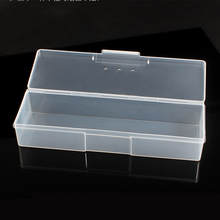 Accessories-Tools Container Storage-Case Clear-Organizer Gel-Polish Nail-Art Plastic