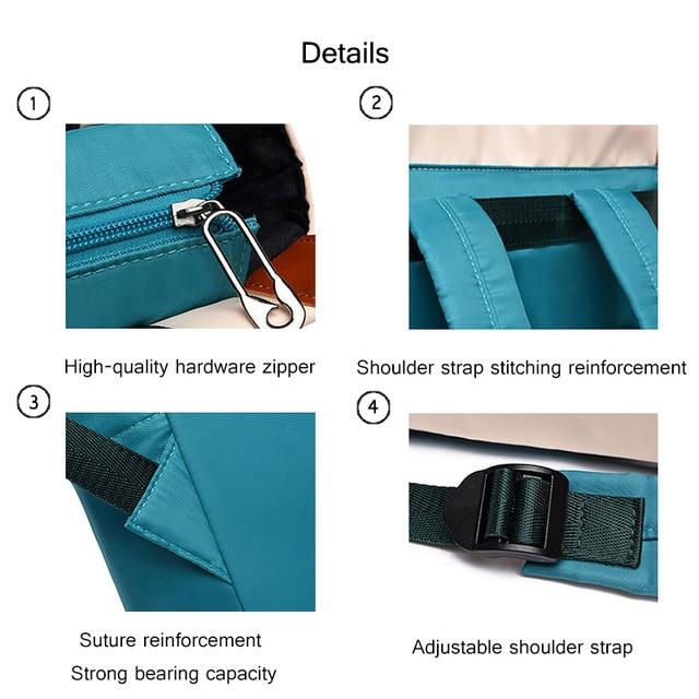 Oxford Women Backpacks Girls Book Bags Fashion Lady Shoulder Backpack Waterproof Anti-theft Business Bag Teenage Girl Laptop Bag 4