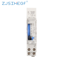 SUL180a Time Switch Mechanical 24 Hours Programmable 220V 16A 24H 8 Settings Manual/Auto Controller
