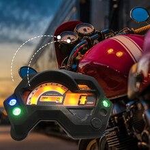 Мотоцикл ЖК-экран одометр цифровой спидометр манометр светодиодный индикатор подсветки светильник для Yamaha FZ16 FZ 16