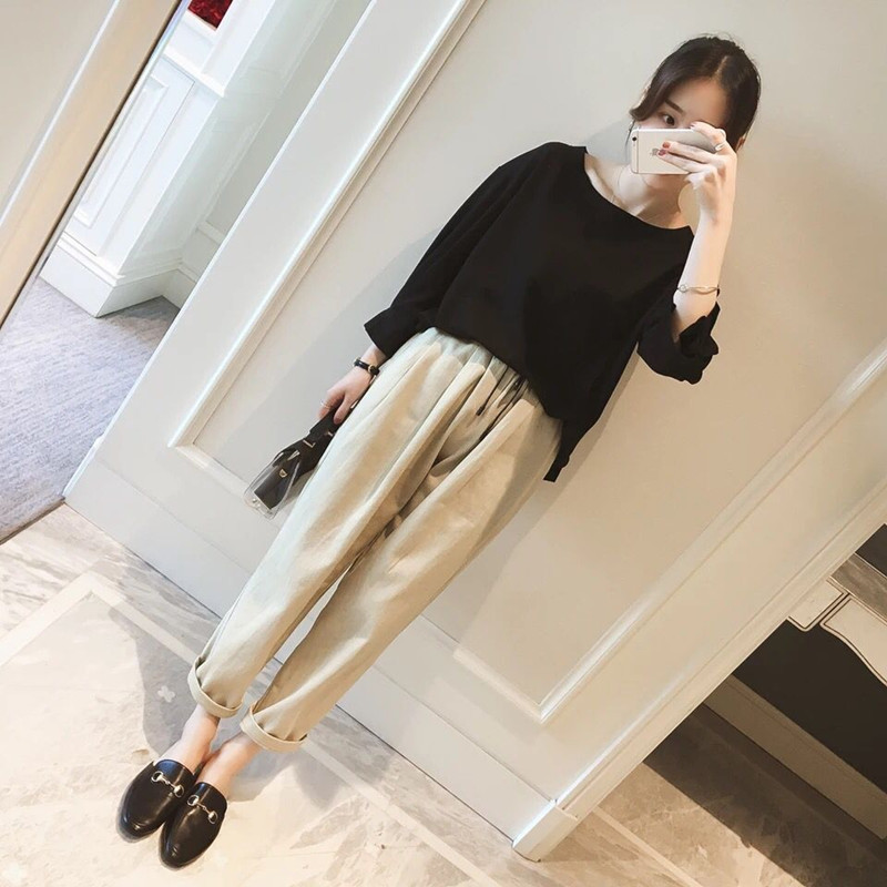 Large Size Plus-sized Womenswear Mm Autumn New Style Western Style By Age Set Large GIRL'S Waist Thick Cover Belly Tibetan Meat