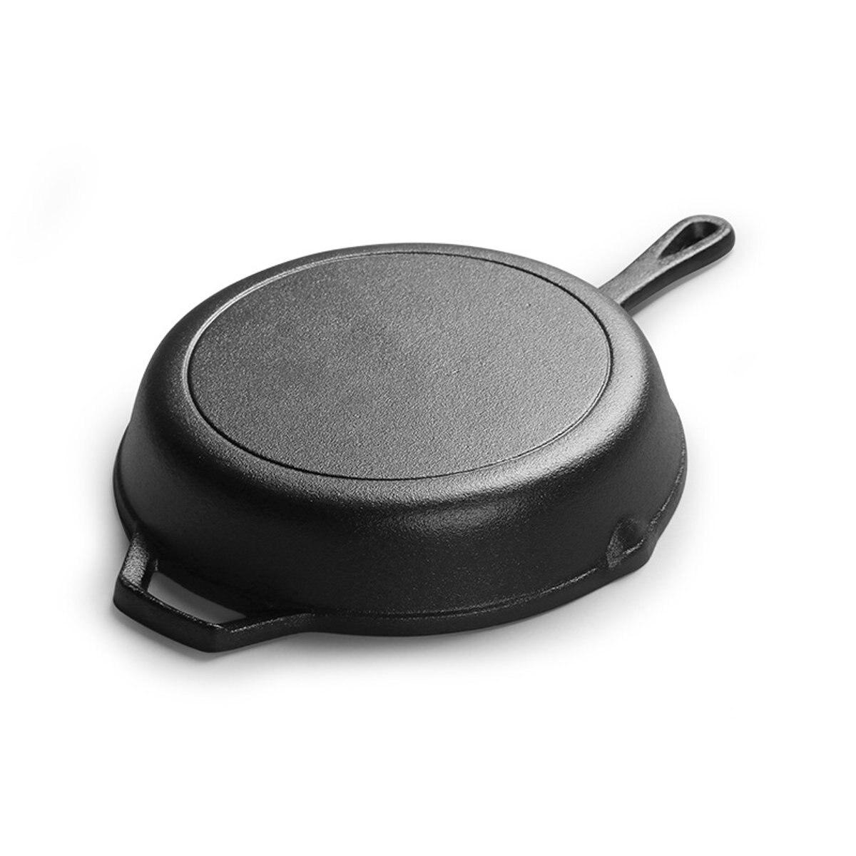 Poêle en fonte antiadhésive poêle multi-usages poêle à crêpes Steak Grill casserole marmite ustensiles de cuisine outils de cuisson - 4